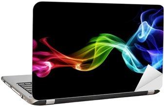 Naklejka na Laptopa Kolorowe dymu