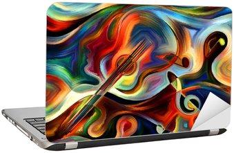 Naklejka na Laptopa Koncepcyjne Muzyka
