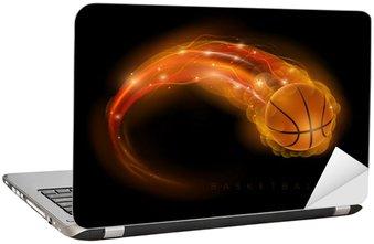Naklejka na Laptopa Koszykówka kometa
