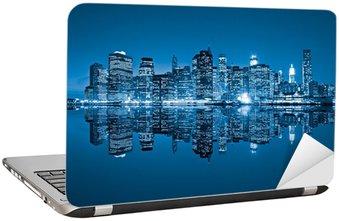 Naklejka na Laptopa Manhattan, Nowy Jork. USA.