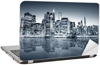 Naklejka na Laptopa Manhattan Nowy Jork