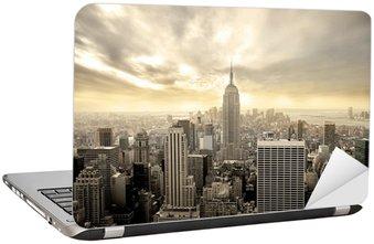 Naklejka na Laptopa Manhattan