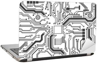 Naklejka na Laptopa Obwodami tekstury tła