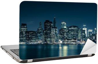 Naklejka na Laptopa Panoramę Nowego Jorku