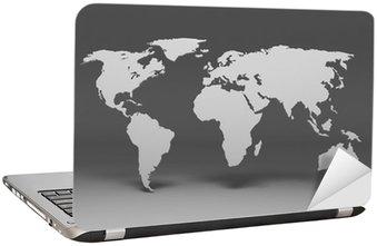 Naklejka na Laptopa Planisfera