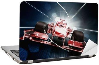 Naklejka na Laptopa Renderowania 3D, Formula One Concept Car
