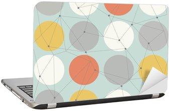 Naklejka na Laptopa Skandynawskich geometryczny nowoczesny szwu