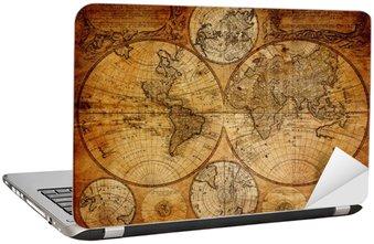 Naklejka na Laptopa Stara mapa (1746)