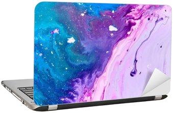Naklejka na Laptopa Streszczenie farby tekstury