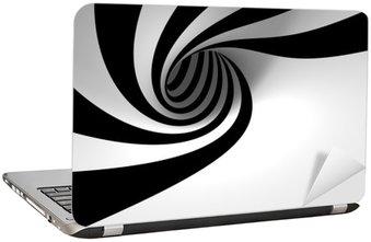 Naklejka na Laptopa Streszczenie spirali
