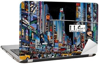 Naklejka na Laptopa Ulica w Nowym Jorku