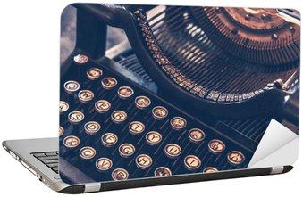 Naklejka na Laptopa Zabytkowe maszyny do pisania