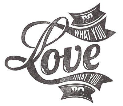 Naklejka na Ścianę Miłość