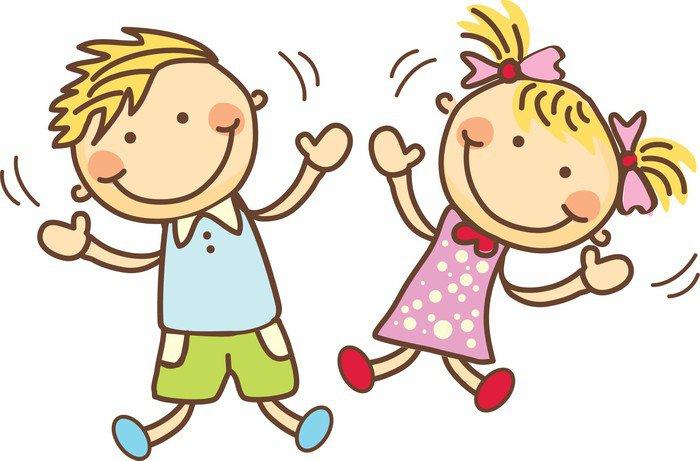 Znalezione obrazy dla zapytania szczęśliwe dzieci rysunek