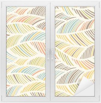 Naklejka na Szybę i Okno Abstract Pattern