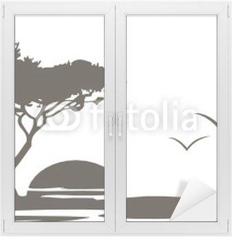 Naklejka na Szybę i Okno Savanne2020