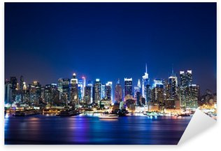 Naklejka Pixerstick New York Manhattan skyline