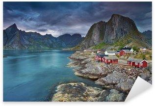Naklejka Norwegia
