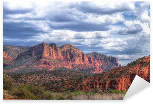 Naklejka Obszar parku Sedona-AZ-Katedra Rock State