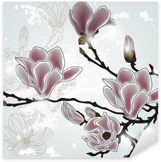 Naklejka Pixerstick Oddział Magnolia