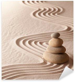 Naklejka Ogród zen medytacja