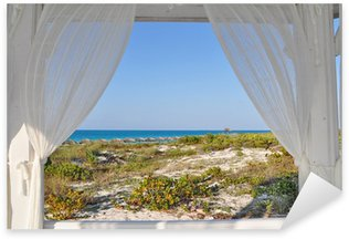Naklejka Okno do morza