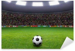 Naklejka Piłka nożna, stadion, światło