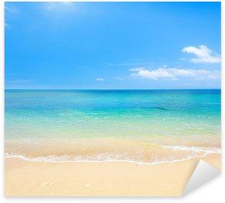 Naklejka Plaża i tropikalnych morza
