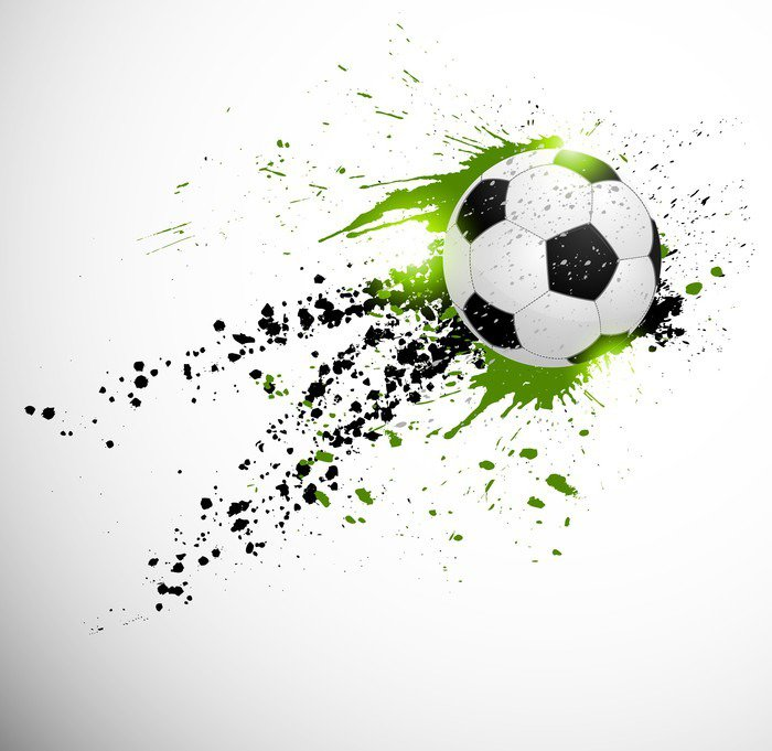 Naklejka Projekt piłka nożna - Tematy