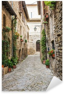 Naklejka Romantyczna uliczka Włoski