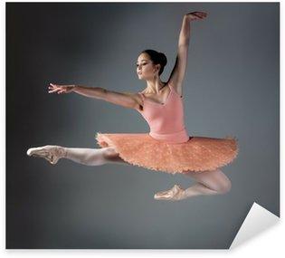 Naklejka Samice tancerz baletu