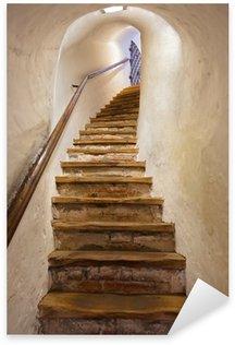 Naklejka Pixerstick Schody w zamku Kufstein - Austria