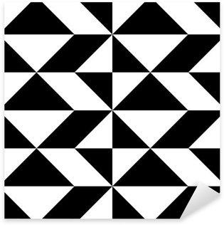 Naklejka Pixerstick Seamless Wrapping Paper design. Streszczenie Nowoczesne Geometryczne Tło