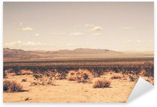 Naklejka Pixerstick Southern California Desert