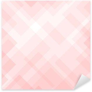 Naklejka Pixerstick Streszczenie eleganckie różowe tło