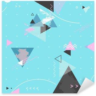 Naklejka Pixerstick Streszczenie nowoczesne geometryczne tle