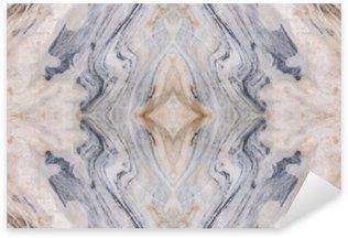 Naklejka Pixerstick Streszczenie powierzchni podłoga marmurowa wzór tekstury tła