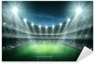 Naklejka Pixerstick Światło Stadium