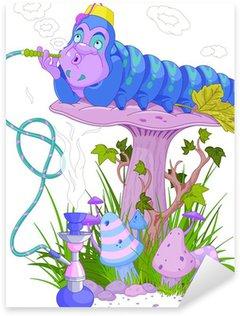 Naklejka The Blue Caterpillar
