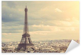 Naklejka Pixerstick Tour eiffel w Paryżu