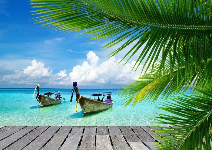Naklejka Tropikalnego morza - Bestsellery