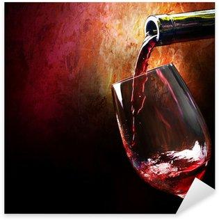 Naklejka Pixerstick Wino