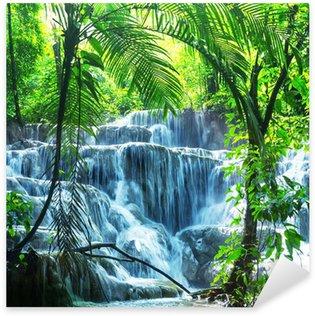 Naklejka Pixerstick Wodospad w Meksyku