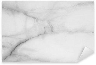 Naklejka Pixerstick Zbliżenie marmuru powierzchnia podłogi tekstury tła w czerni i bieli dzwonka