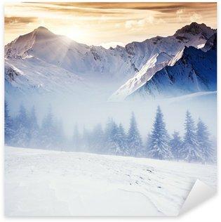 Naklejka Zima