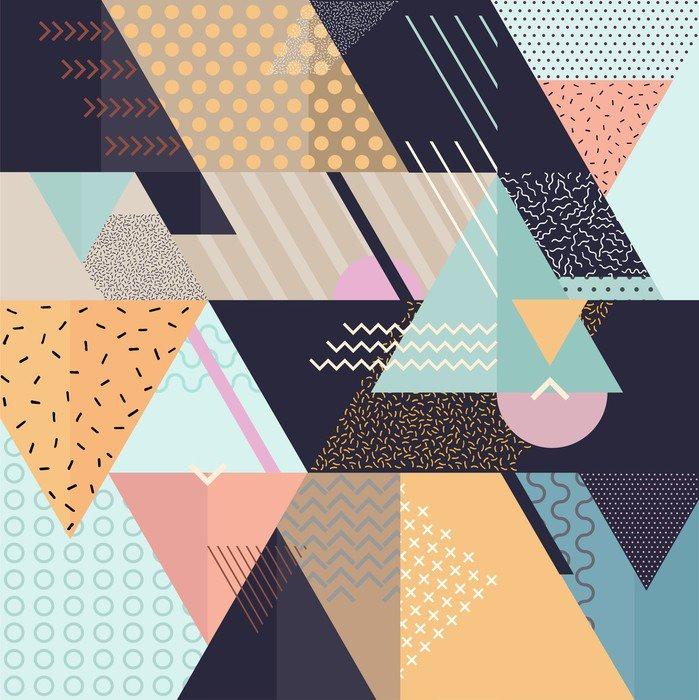 Art geometrické pozadí