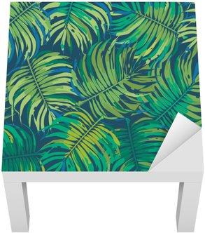 Palmového listí Tropic bezešvé vektoru vzor
