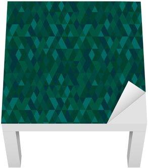Vektorové bezešvé mozaika barvy smaragd. Abstraktní nekonečné pozadí. Používá se pro tapety, vzor výplně, textilní, webové stránky buckground
