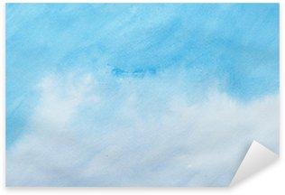 Nálepka Pixerstick Barevné tahy akvarelu umění