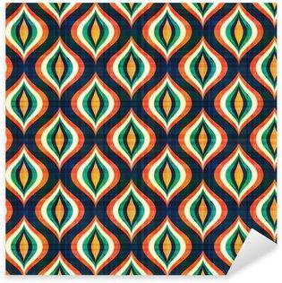 Nálepka Bezešvé abstraktní geometrický vzor